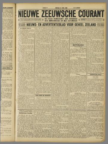 Nieuwe Zeeuwsche Courant 1928-04-24