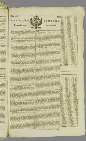 Middelburgsche Courant 1810-12-27