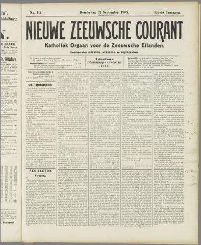 Nieuwe Zeeuwsche Courant 1905-09-21