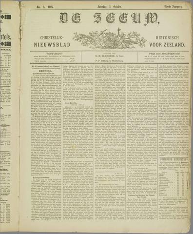 De Zeeuw. Christelijk-historisch nieuwsblad voor Zeeland 1895-10-05