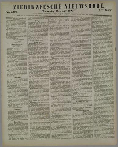 Zierikzeesche Nieuwsbode 1885-06-18