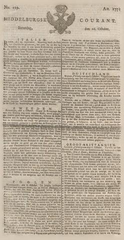 Middelburgsche Courant 1771-10-26