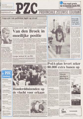 Provinciale Zeeuwse Courant 1988-09-16