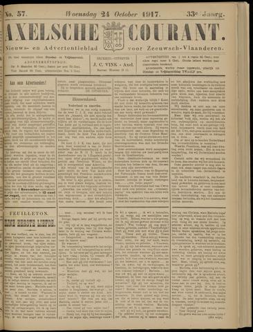 Axelsche Courant 1917-10-24