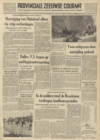 Provinciale Zeeuwse Courant 1957-07-30