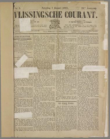 Vlissingse Courant 1887