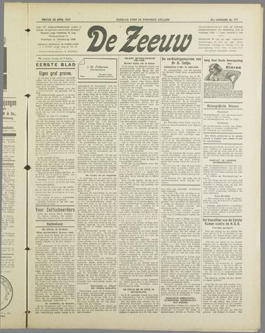 De Zeeuw. Christelijk-historisch nieuwsblad voor Zeeland 1937-04-30