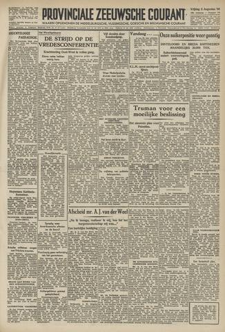 Provinciale Zeeuwse Courant 1946-08-02