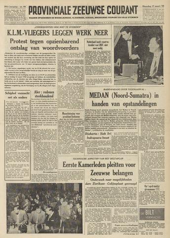 Provinciale Zeeuwse Courant 1958-03-17