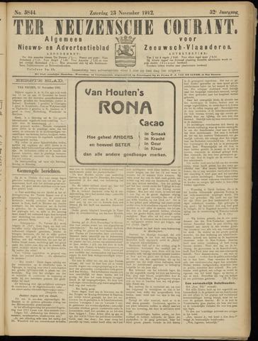 Ter Neuzensche Courant. Algemeen Nieuws- en Advertentieblad voor Zeeuwsch-Vlaanderen / Neuzensche Courant ... (idem) / (Algemeen) nieuws en advertentieblad voor Zeeuwsch-Vlaanderen 1912-11-23