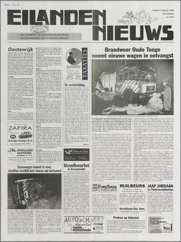 Eilanden-nieuws. Christelijk streekblad op gereformeerde grondslag 2000-02-11