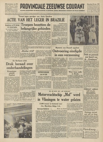 Provinciale Zeeuwse Courant 1961-08-28