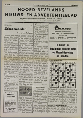 Noord-Bevelands Nieuws- en advertentieblad 1980-02-28