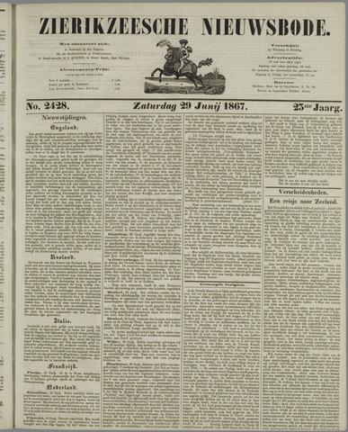 Zierikzeesche Nieuwsbode 1867-06-29
