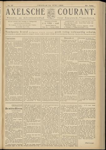 Axelsche Courant 1938-06-24