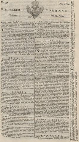 Middelburgsche Courant 1764-04-19