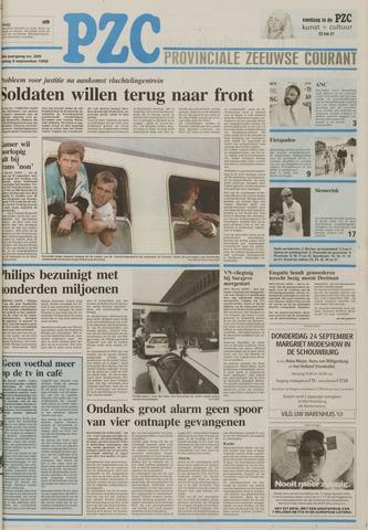Provinciale Zeeuwse Courant 1992-09-04