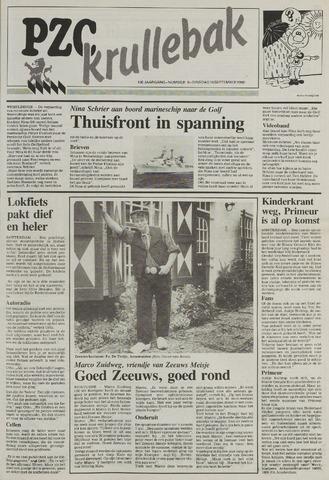 Provinciale Zeeuwse Courant katern Krullenbak (1981-1999) 1990-09-18