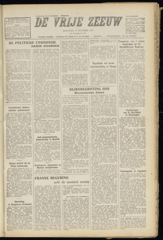 de Vrije Zeeuw 1947-10-27