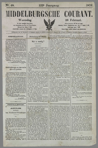 Middelburgsche Courant 1879-02-26
