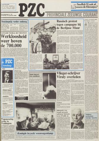 Provinciale Zeeuwse Courant 1986-08-14