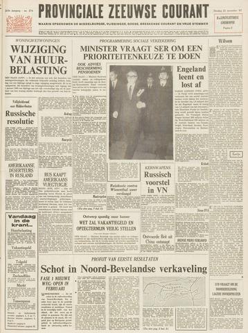 Provinciale Zeeuwse Courant 1967-11-21