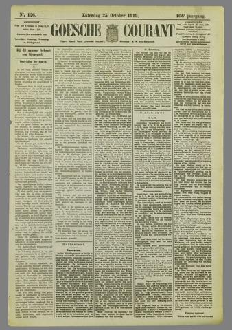 Goessche Courant 1919-10-25