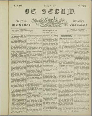 De Zeeuw. Christelijk-historisch nieuwsblad voor Zeeland 1896-10-20