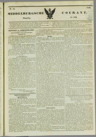 Middelburgsche Courant 1846-07-14