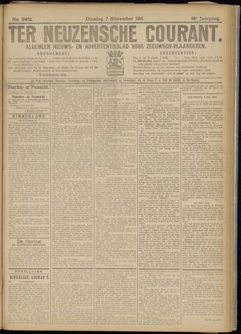 Ter Neuzensche Courant. Algemeen Nieuws- en Advertentieblad voor Zeeuwsch-Vlaanderen / Neuzensche Courant ... (idem) / (Algemeen) nieuws en advertentieblad voor Zeeuwsch-Vlaanderen 1916-11-07