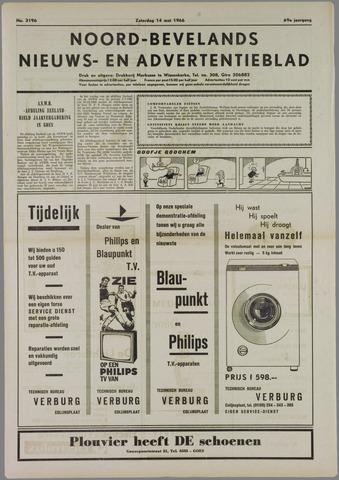Noord-Bevelands Nieuws- en advertentieblad 1966-05-14