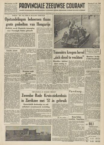 Provinciale Zeeuwse Courant 1956-10-27