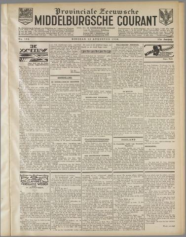 Middelburgsche Courant 1930-08-12