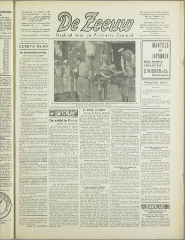 De Zeeuw. Christelijk-historisch nieuwsblad voor Zeeland 1937-10-19