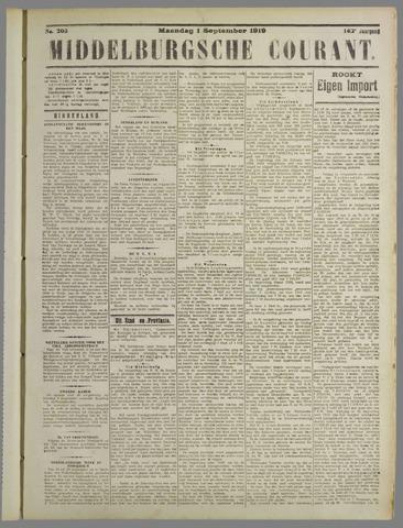 Middelburgsche Courant 1919-09-01