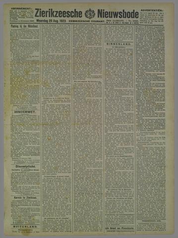 Zierikzeesche Nieuwsbode 1923-08-20