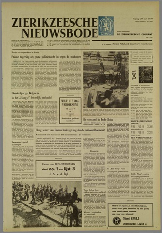 Zierikzeesche Nieuwsbode 1970-05-29