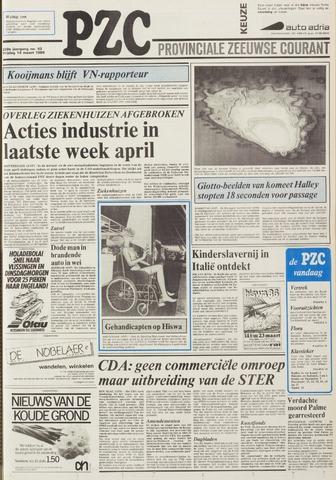Provinciale Zeeuwse Courant 1986-03-14