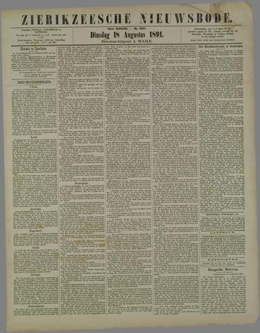 Zierikzeesche Nieuwsbode 1891-08-18