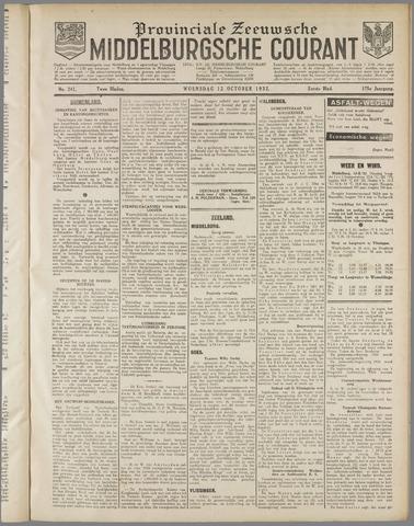 Middelburgsche Courant 1932-10-12