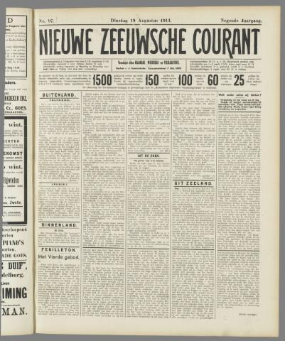 Nieuwe Zeeuwsche Courant 1913-08-19