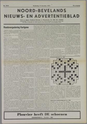 Noord-Bevelands Nieuws- en advertentieblad 1972-12-14