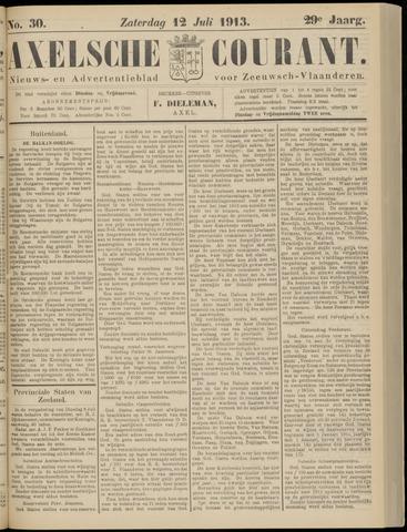 Axelsche Courant 1913-07-12