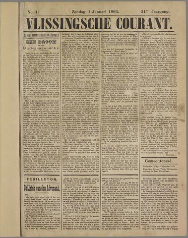 Vlissingse Courant 1893