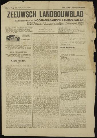 Zeeuwsch landbouwblad ... ZLM land- en tuinbouwblad 1941-02-22