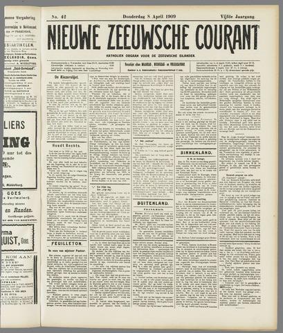 Nieuwe Zeeuwsche Courant 1909-04-08