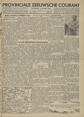 Provinciale Zeeuwse Courant 1944-03-11