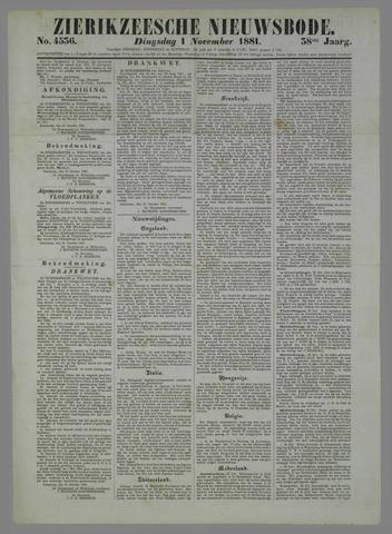 Zierikzeesche Nieuwsbode 1881-11-01