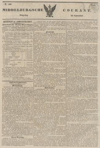 Middelburgsche Courant 1843-09-12