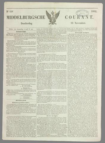 Middelburgsche Courant 1862-11-13